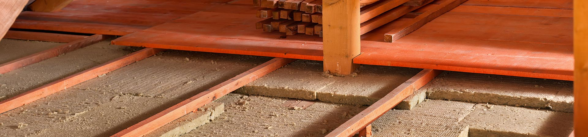 attic insulation floorboards