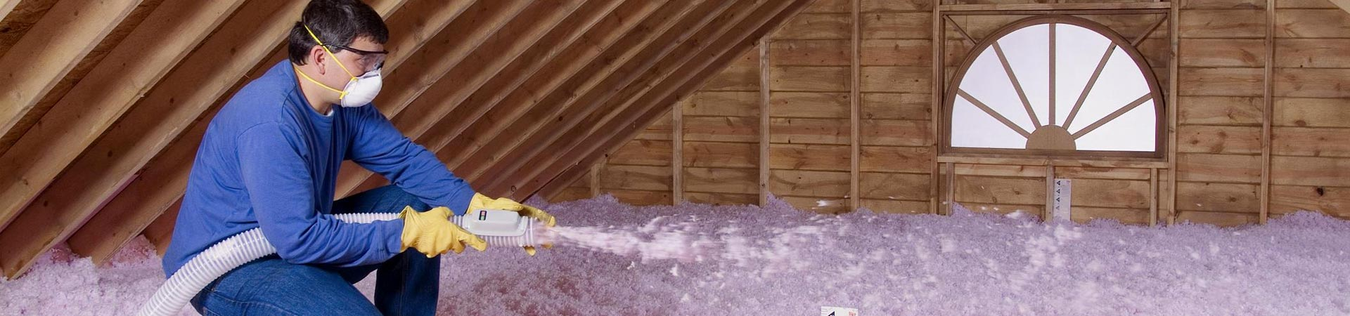 blowing in insulation