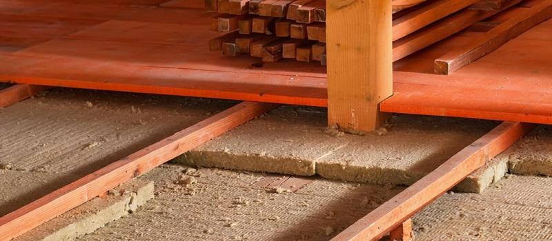 attic insulation floorboards